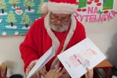 Odwiedziny Św. Mikołaja w klasie Ia