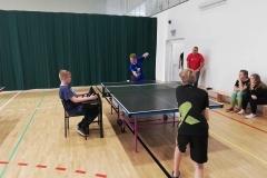 Mistrzostwach Miasta i Gminy Września w drużynowym tenisie stołowym – Igrzyska Dzieci i Młodzieży w kategorii chłopców