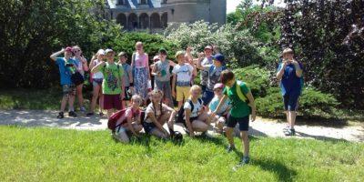 Wycieczka klasy IVa i IVb do Gołuchowa