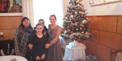 Dom Pomocy Społecznej w Łopiennie – przekazanie darów