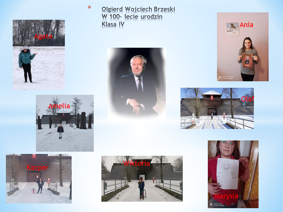 100 urodziny Olgierda Brzeskiego – kl. IV, V